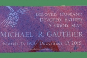 flush grave marker for Westview Cemetery, Lexington, MA