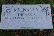 grave marker - St. Mary's Cemetery